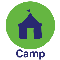 Camp Button