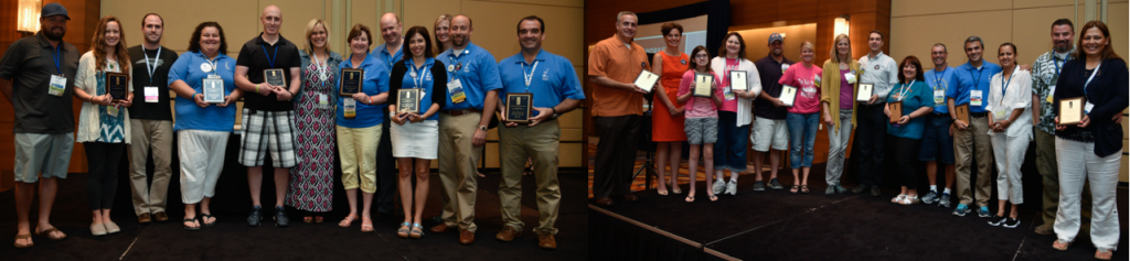 2015 Excellence In Fundraising Awards Recipients at Conference
