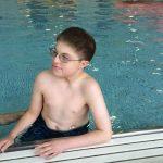 Ethan swimming