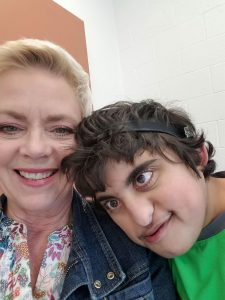 Aman with his intervenor Brenda