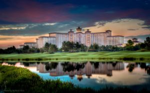 Rosen Shingle Creek Hotel at Sunset