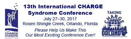13th International CHARGE Syndrome Conference Volunteer banner