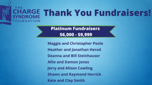 Platinum Fundraisers - 2021