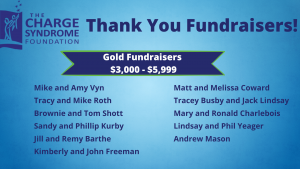 Gold Fundraisers - 2021