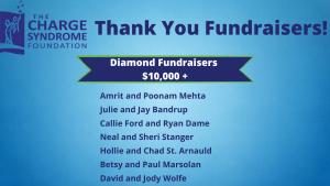 Diamond Fundraisers - 2021