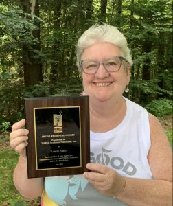 Stars-In-CHARGE Recognition Award 2021 - Laurie Suter