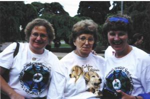 Meg, Marion & Sandra - 1995