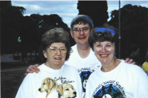 Marion, Jim & Sandra - 1995